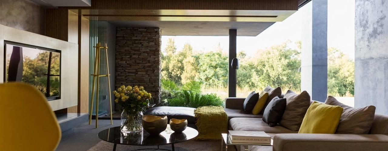 Гостиная в . Автор – Nico Van Der Meulen Architects
