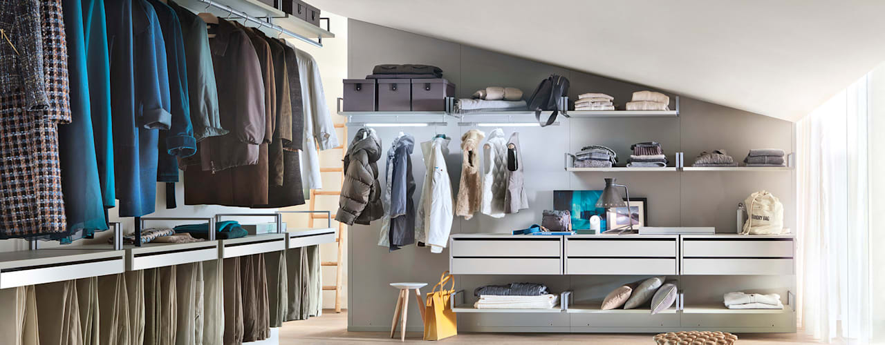 Walk In Wardrobes de Campbell Watson Moderno