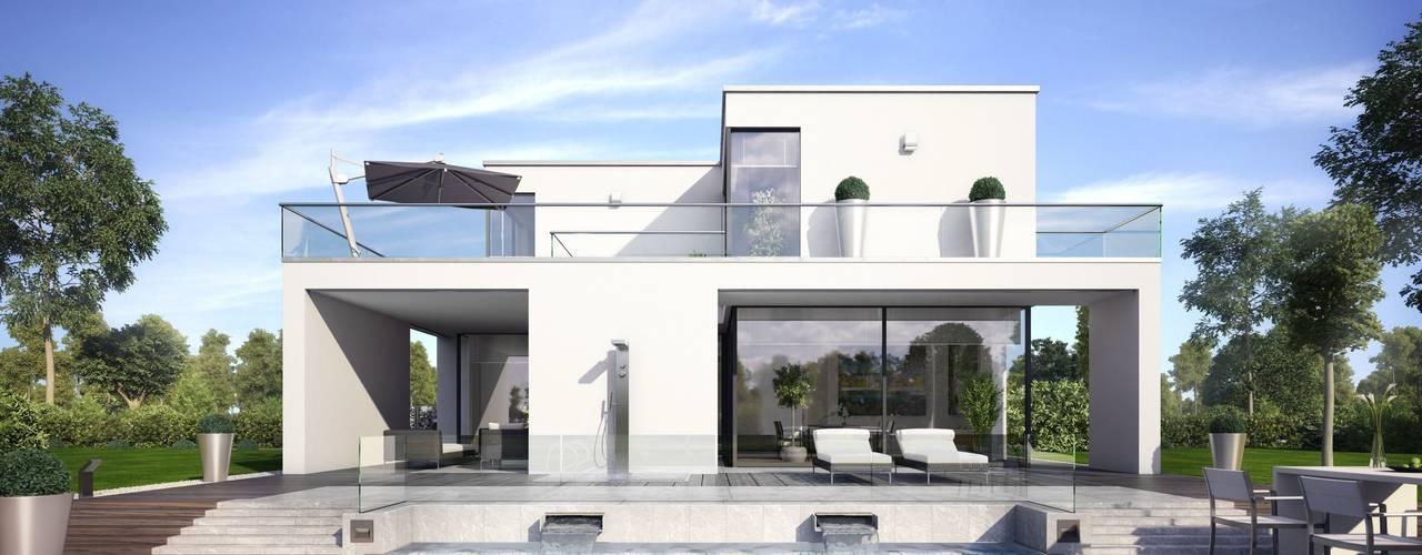 Casas modernas: Ideas, imágenes y decoración de OKAL Haus GmbH Moderno