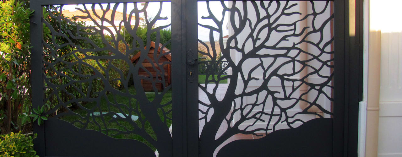 Jardines de estilo moderno de Teknik Metal Ferforje Moderno