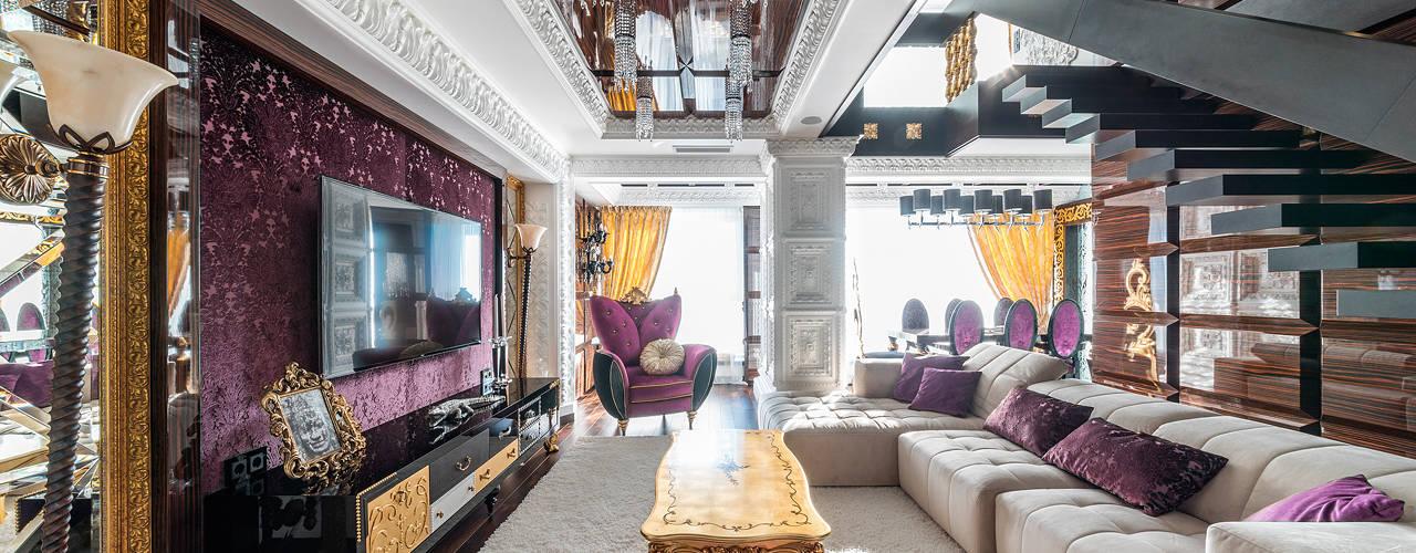 غرفة المعيشة تنفيذ Belimov-Gushchin Andrey