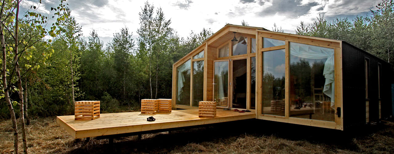 Projekty,  Domy zaprojektowane przez BIO - architectural Bureau of Ivan Ovchinnikov