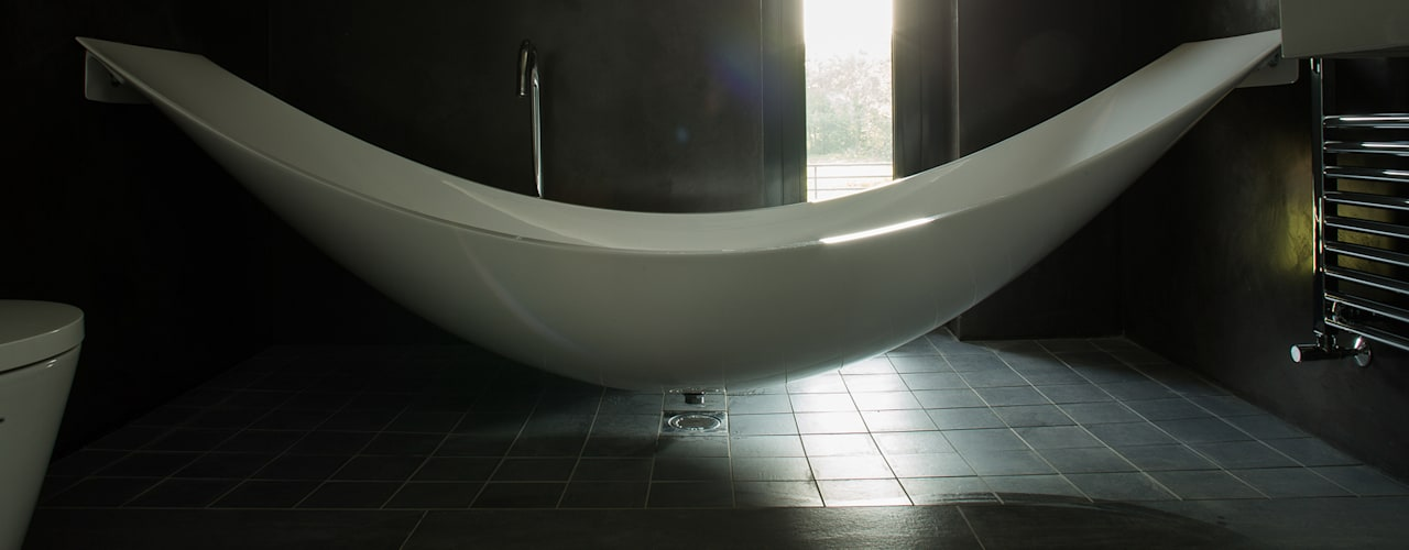 Patrick Bradley Architects의  욕실, 모던