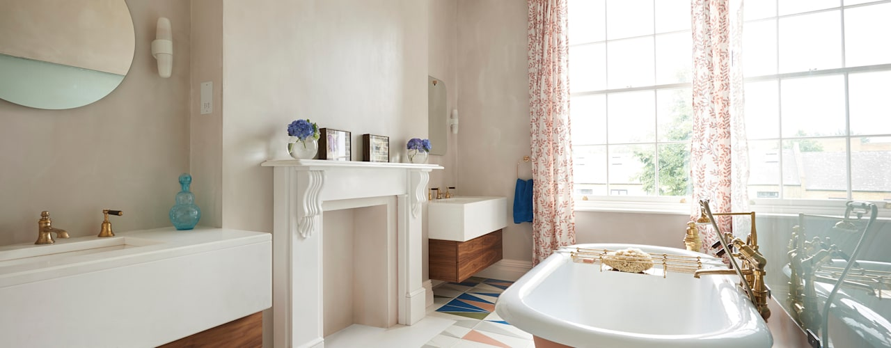 Drummond's Case Study: London Townhouse, Notting Hill: rustic  by Drummonds Bathrooms, Rustic