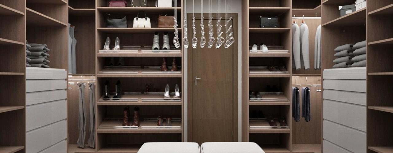 Ruang Ganti by Citlali Villarreal Interiorismo & Diseño