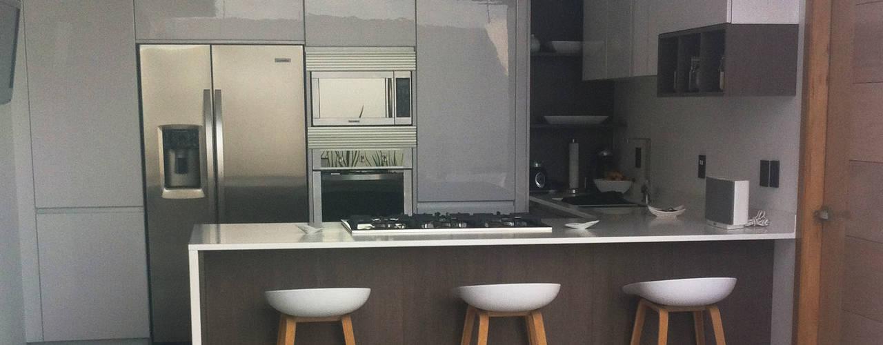 Keuken door Citlali Villarreal Interiorismo & Diseño, Minimalistisch
