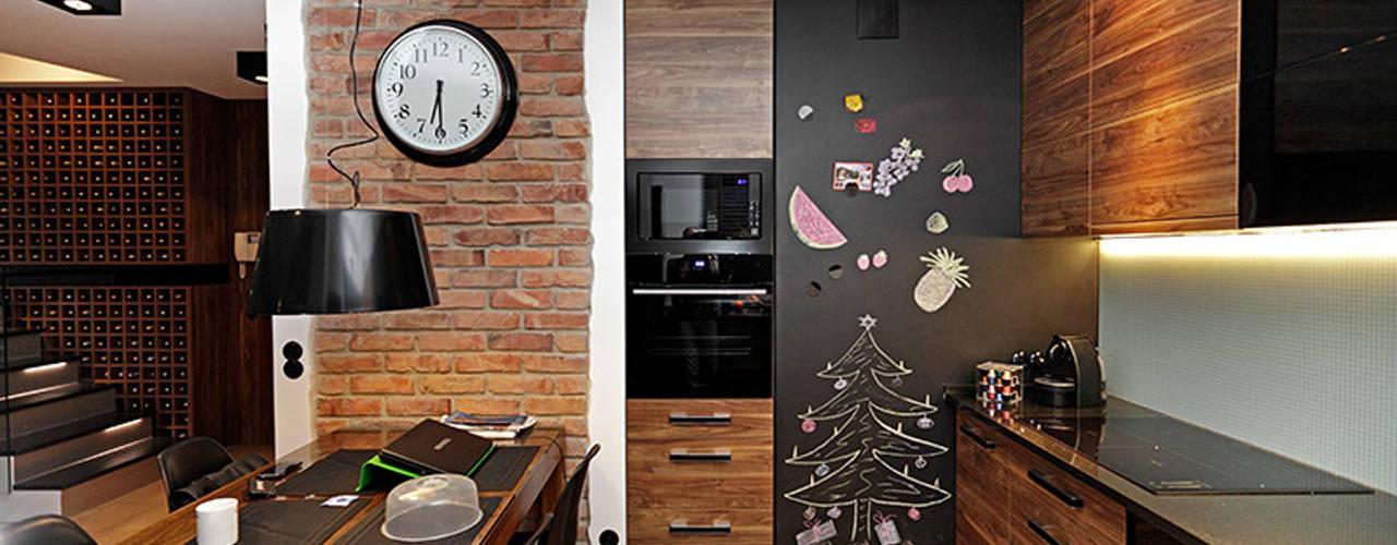 farba tablicowa w kuchni: styl , w kategorii Kuchnia zaprojektowany przez RED design