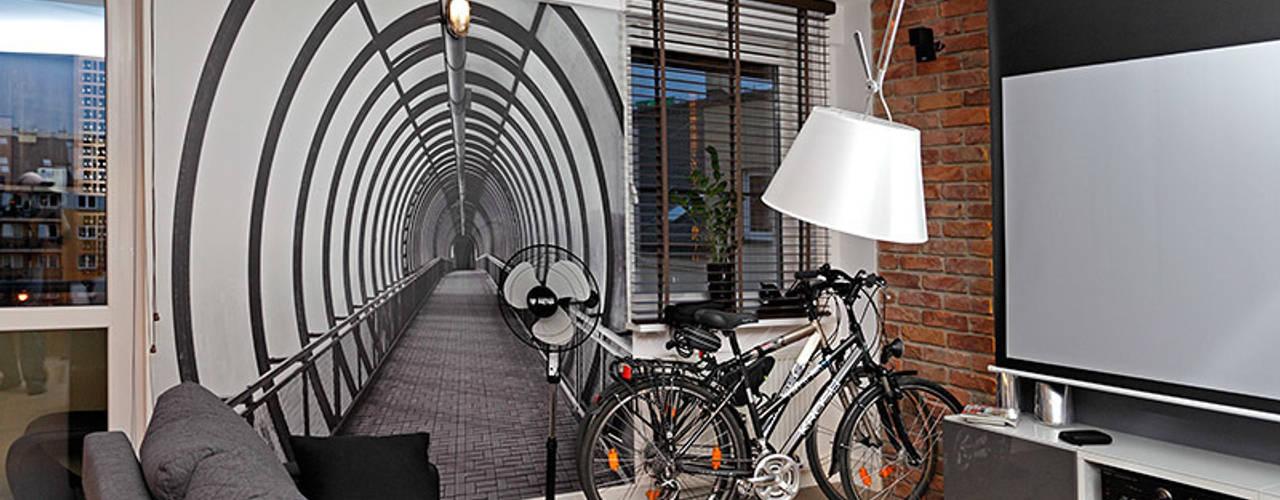 Mieszkanie w męskim wydaniu: styl , w kategorii  zaprojektowany przez RED design