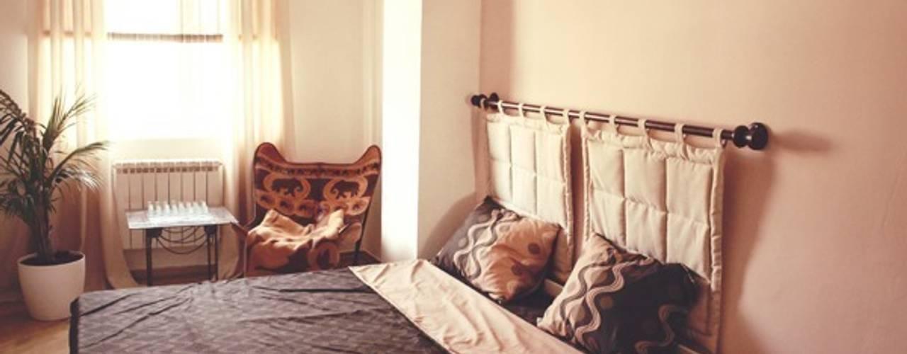 Изготовленное на заказ изголовье для кровати со съемными подголовниками:  в . Автор – L'Essenziale Home Designs