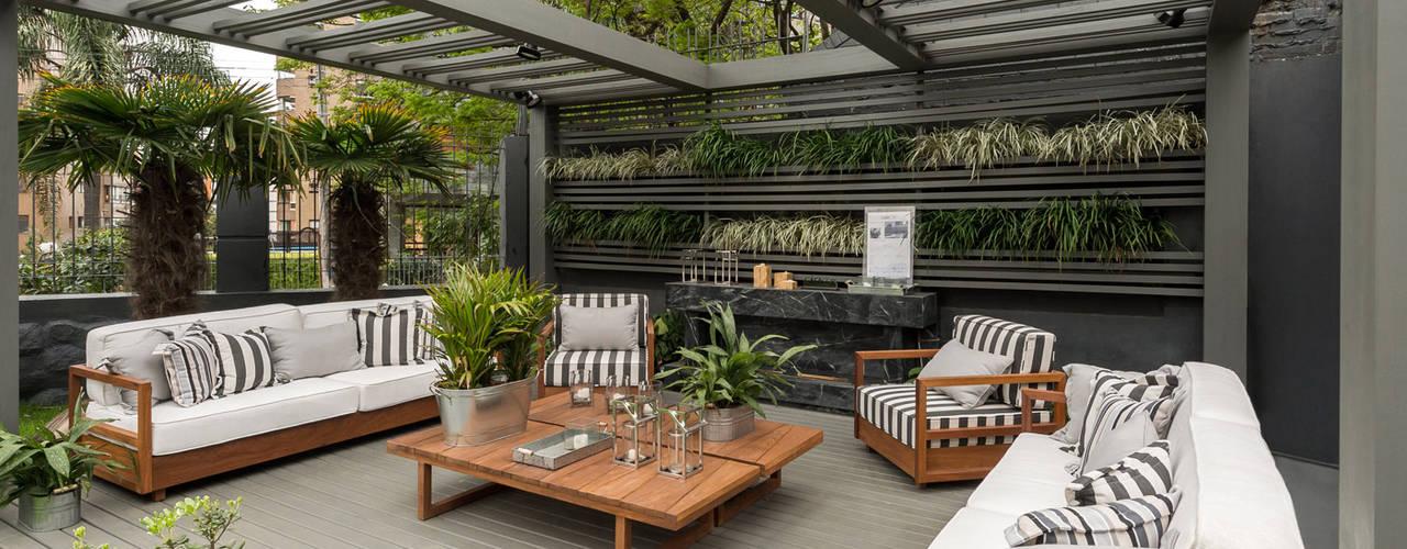 Jardines de estilo  por Plena Madeiras Nobres