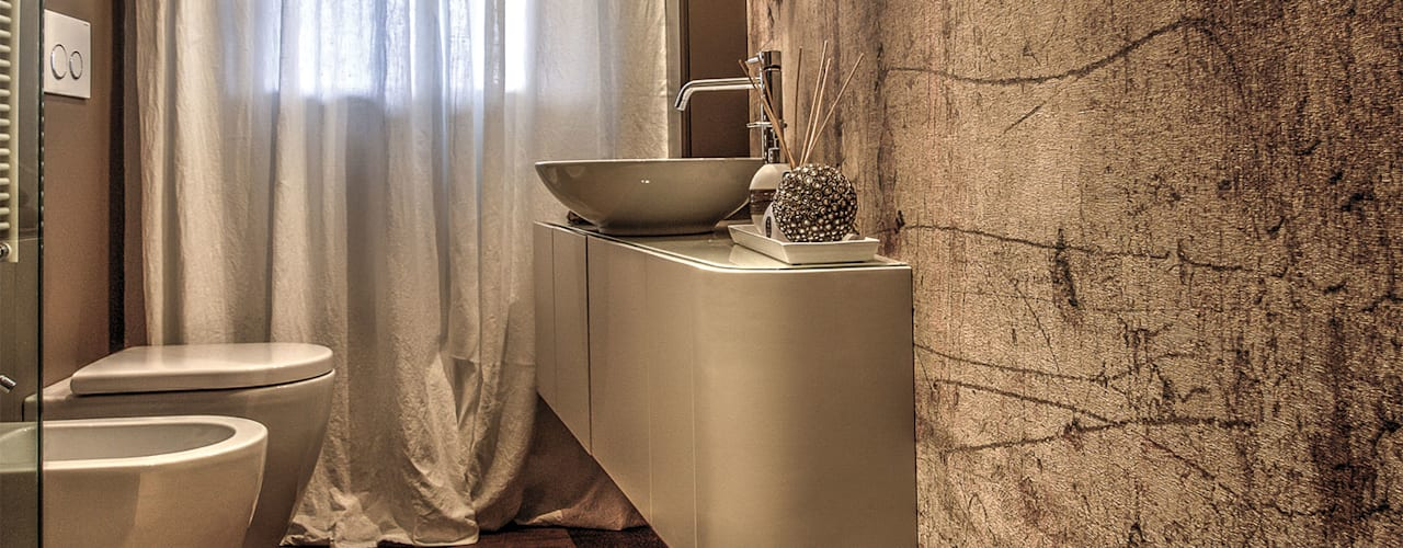 Modern style bathrooms by cristina zanni designer Modern