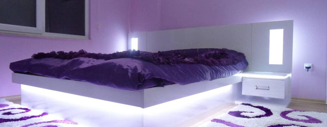 Camera da letto moderna di Akdeniz Dekorasyon Moderno