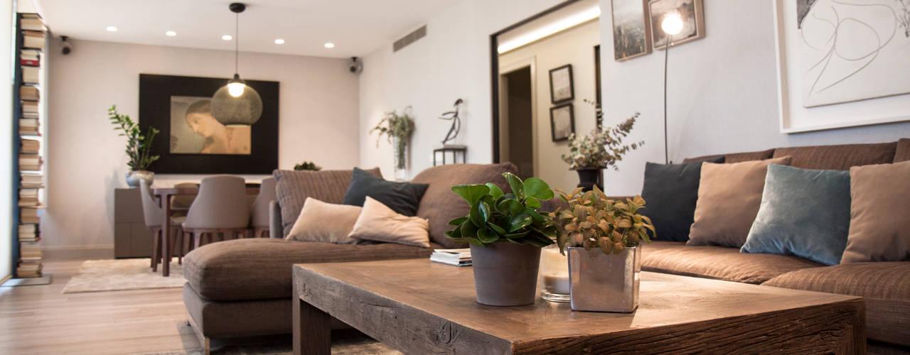 Interioristas y decoradores en Valencia Comedores de estilo moderno de Estatiba construcción, decoración y reformas en Ibiza y Valencia Moderno