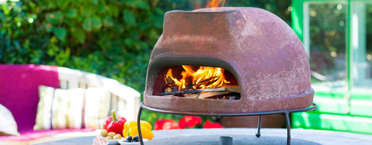 Multi-function wood fired outdoor ovens Oleh La Hacienda Mediteran