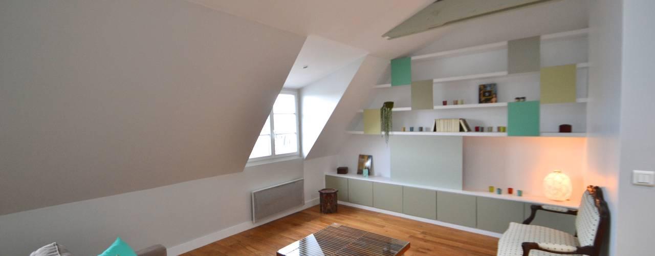 6 id es pour am nager son appartement sous les combles. Black Bedroom Furniture Sets. Home Design Ideas