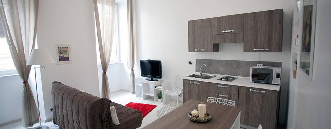 غرفة السفرة تنفيذ Pamela Tranquilli Interior Designer