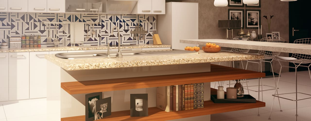 Kitchen by CONTRASTE INTERIOR, Eclectic