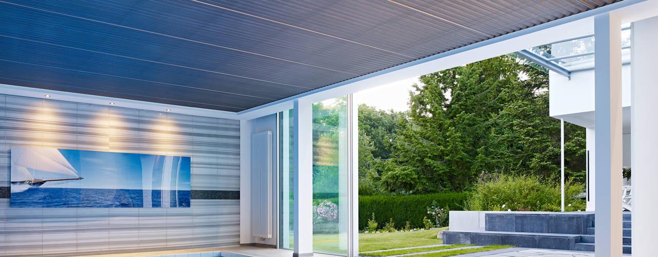 Piscinas minimalistas por Gritzmann Architekten