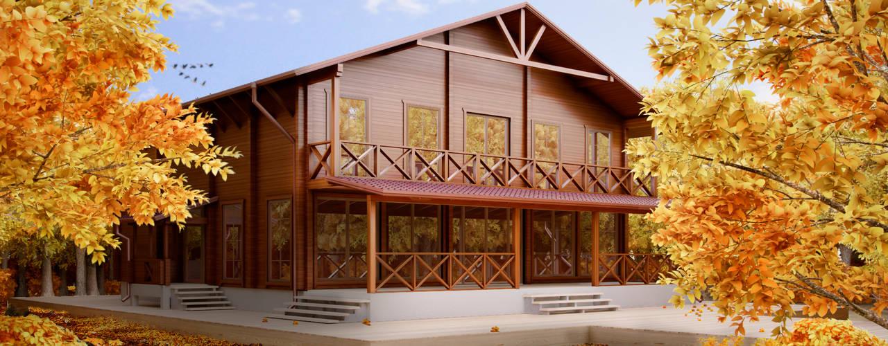 Projekty,  Domy zaprojektowane przez Андреев Александр
