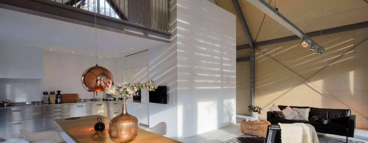 Living room by Blok Kats van Veen Architecten