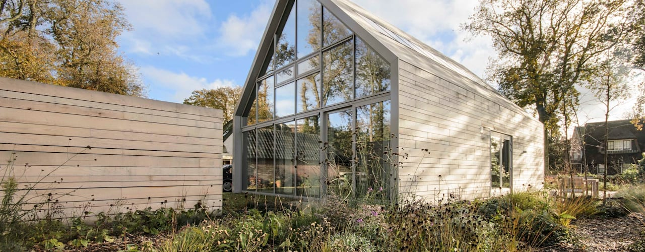 Casas estilo moderno: ideas, arquitectura e imágenes de Blok Kats van Veen Architecten Moderno