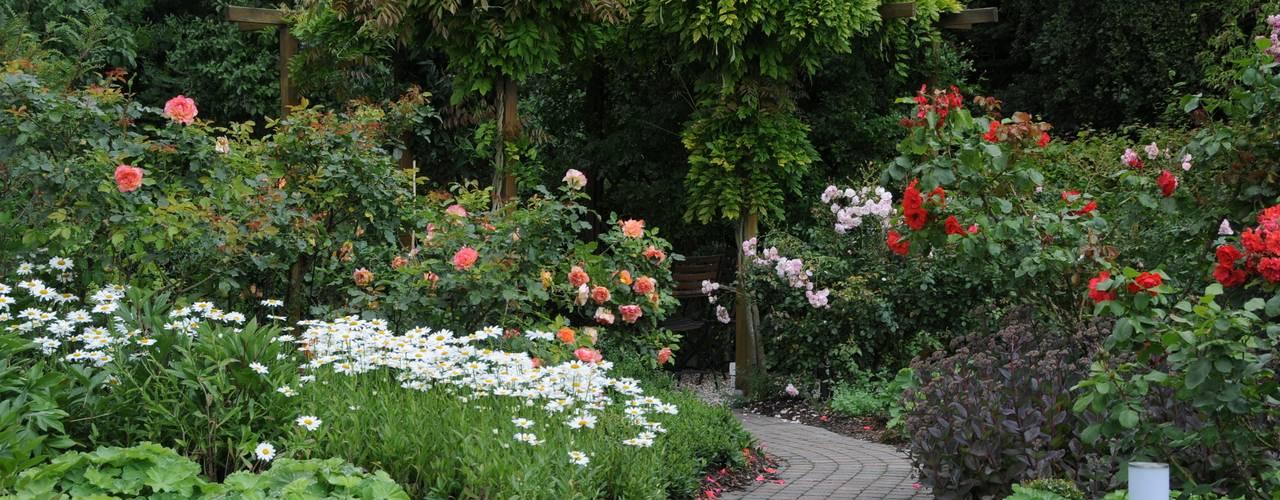 Taman Gaya Country Oleh Ambiente Gartengestaltung Country