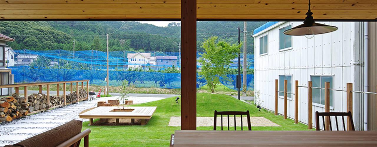 สวน by 空間建築-傳 一級建築士事務所
