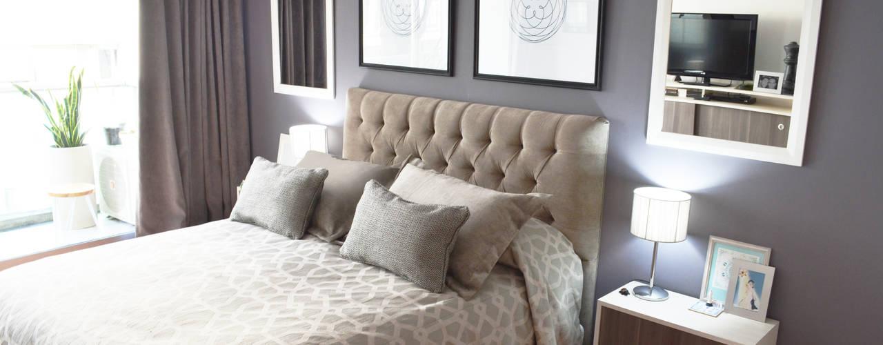 Dormitorio Moderno Dormitorios modernos: Ideas, imágenes y decoración de Nicolas Pierry: Diseño y Decoración de Interiores Moderno