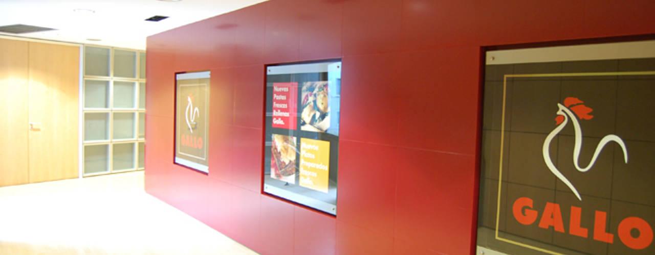 Oficinas Gallo: Oficinas y Tiendas de estilo  de Gramil Interiorismo II - Decoradores y diseñadores de interiores ,