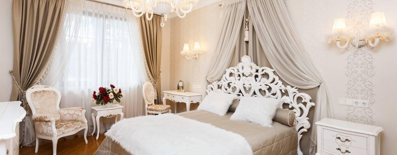 Дом в г.Калининграде Спальня в классическом стиле от AGRAFFE design Классический