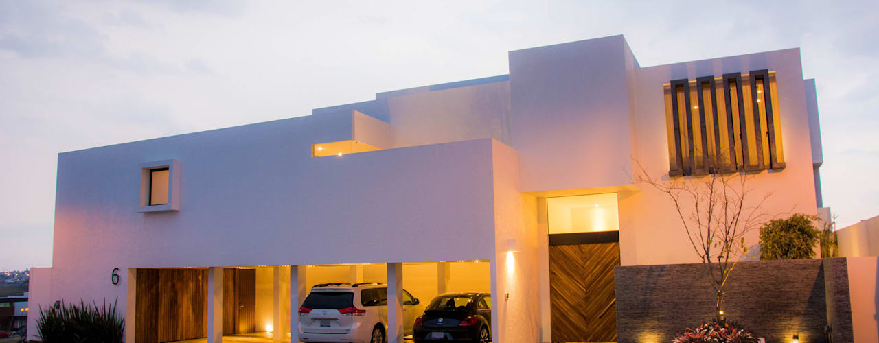 Modern houses by [TT ARQUITECTOS] Modern