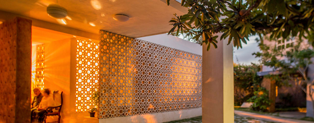 Casas de estilo moderno de TACO Taller de Arquitectura Contextual Moderno