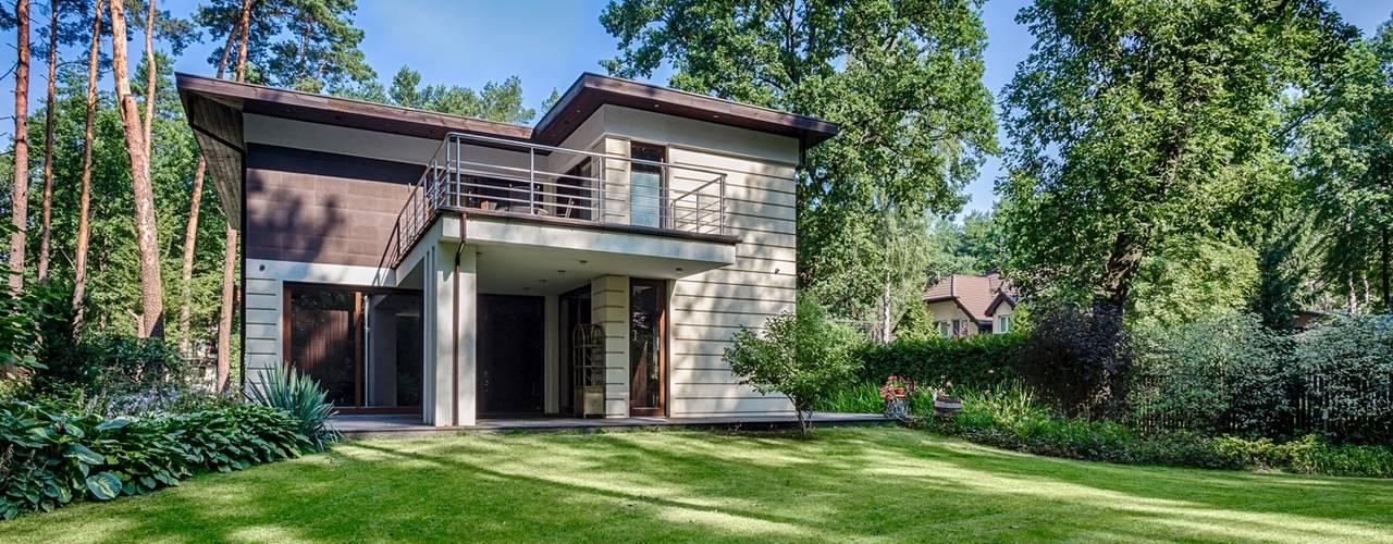 moderne Huizen door Michał Młynarczyk Fotograf Wnętrz