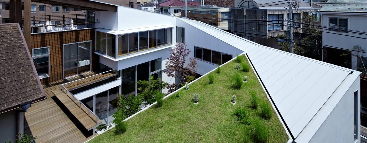 Spiral roof Modern Evler 工藤宏仁建築設計事務所 Modern