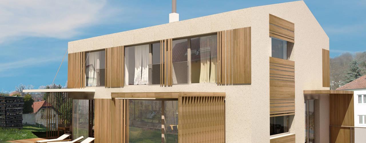 HAUS SKG:  Häuser von AL ARCHITEKT - Architekten in Wien