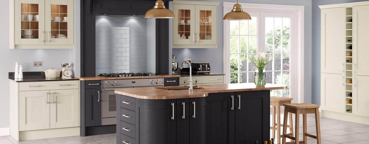 Traditional Kitchen Islands | Sigma 3 Kitchens Sigma 3 Kitchens Dapur Klasik