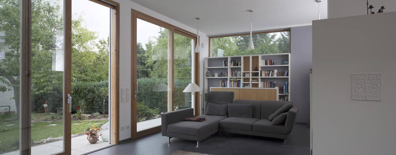 Projekty,  Salon zaprojektowane przez Gerstner Kaluza Architektur GmbH