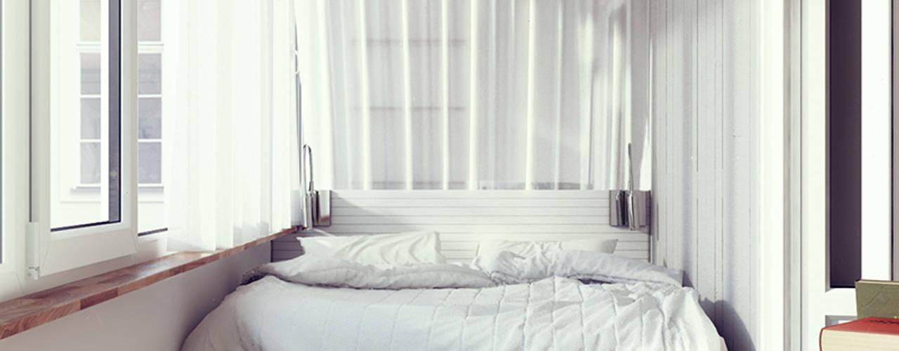 Dormitorios de estilo  por sreda