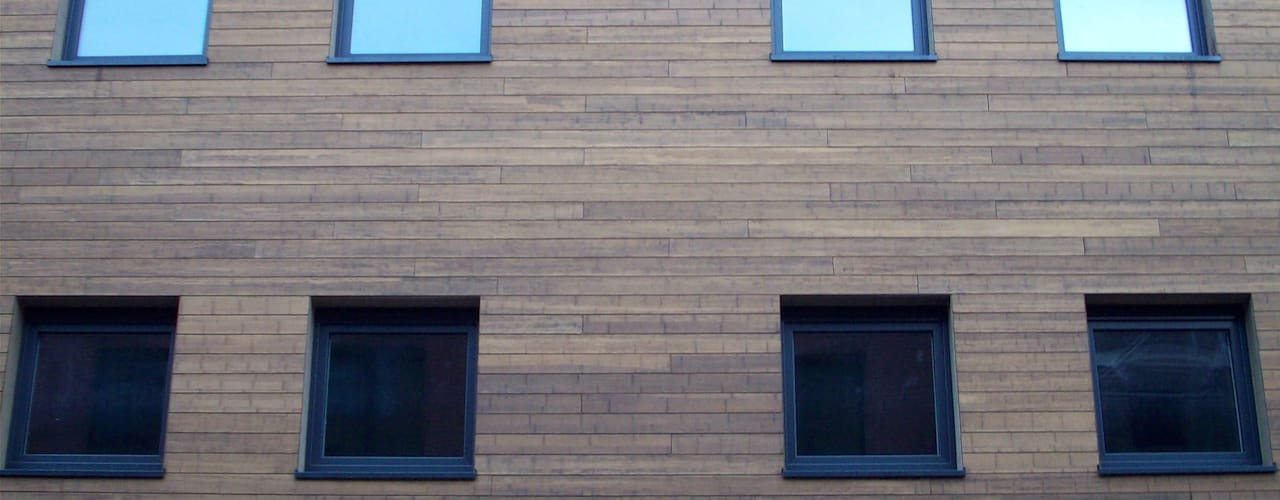 Bamboe:  Huizen door Punto Verde Bamboe toepassingen, Modern