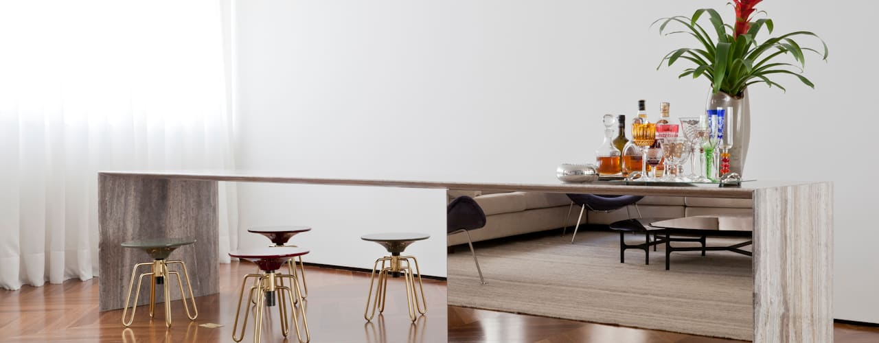 Apartamento Jaú:   por Zemel+ ARQUITETOS