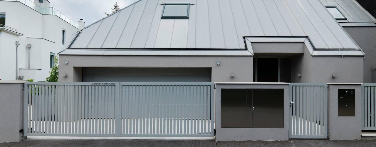 Projekty,  Domy zaprojektowane przez Moser Architects