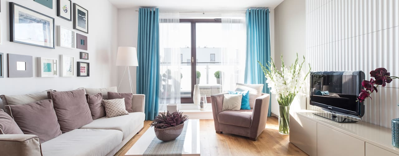 Modern living room by Mprojekt Modern