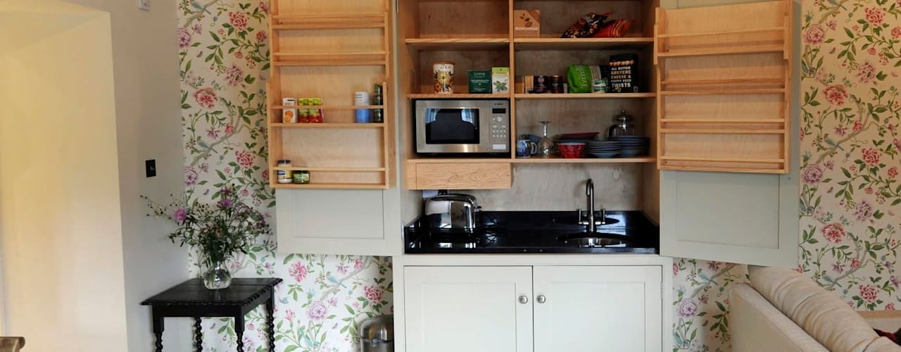 Small kitchens Cocinas de estilo minimalista de Hallwood Furniture Minimalista