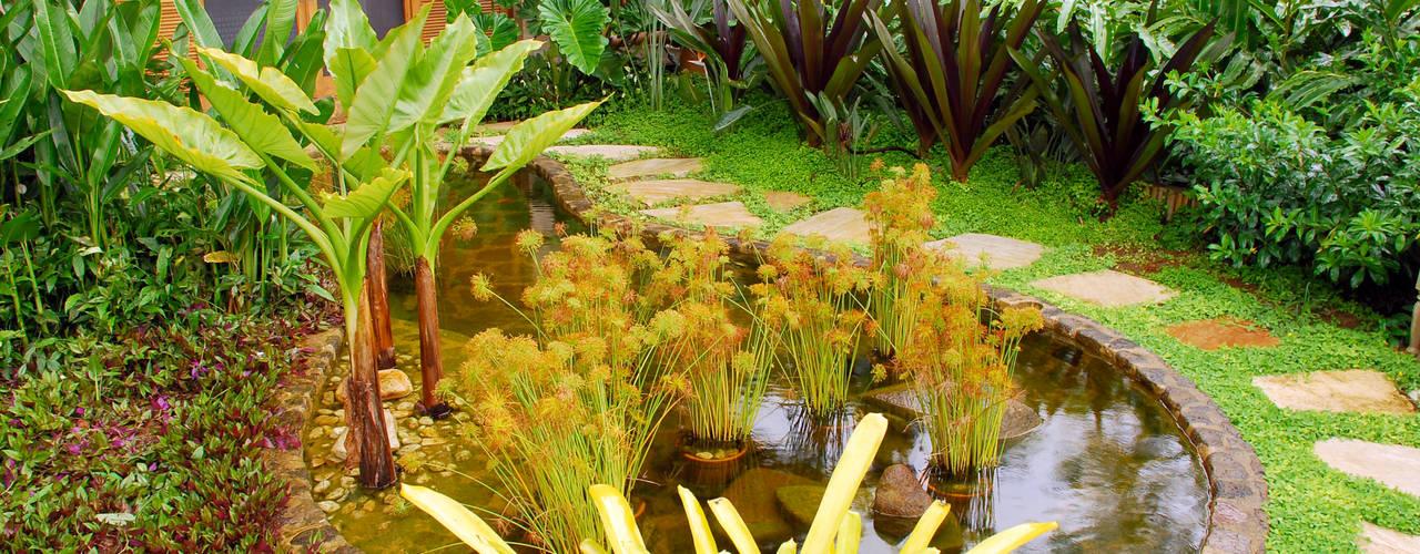 Giardino tropicale di Gil Fialho Paisagismo Tropicale