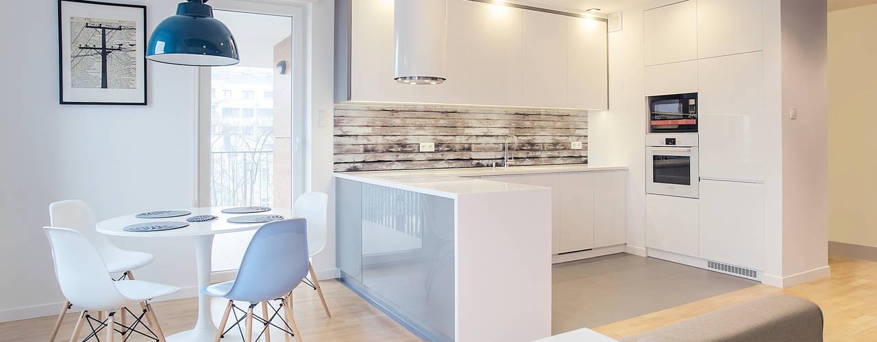 Cozinhas  por DK architektura wnętrz