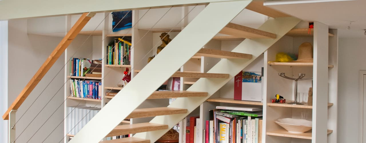 Projekty,  Korytarz, przedpokój zaprojektowane przez Gunneweg & Burg