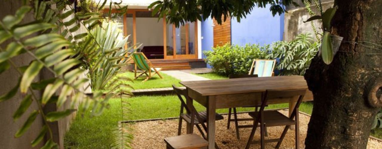 حديقة تنفيذ Ana Sawaia Arquitetura
