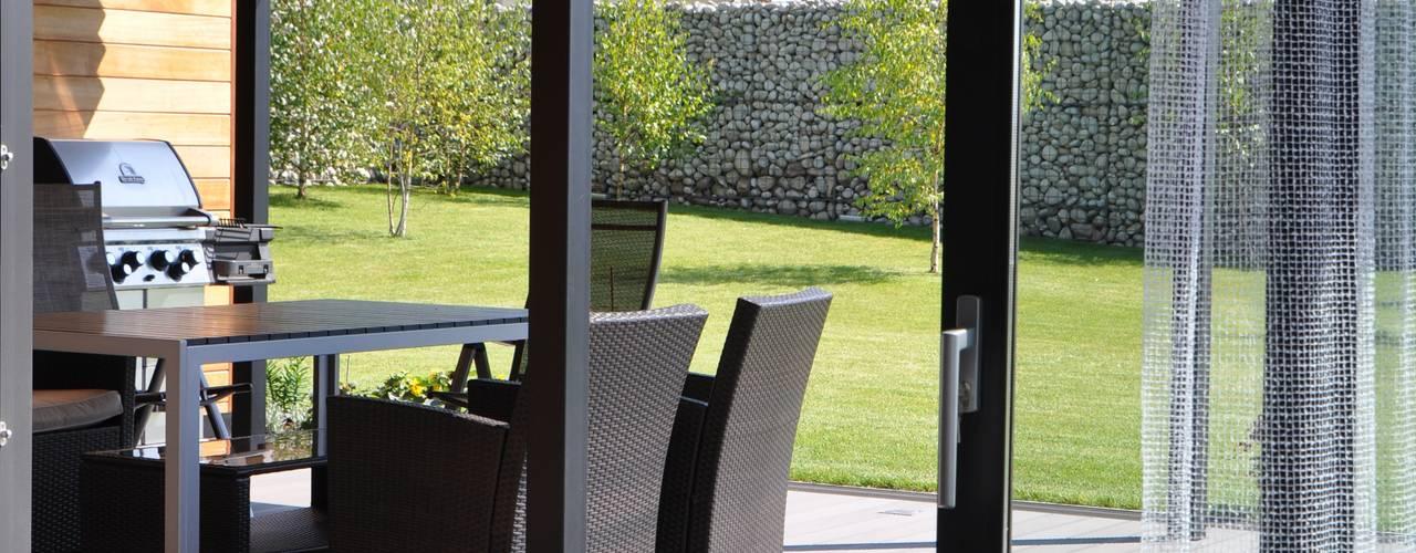 Modern Oturma Odası Studio S Biuro architektoniczne Michał Szymanowski Modern