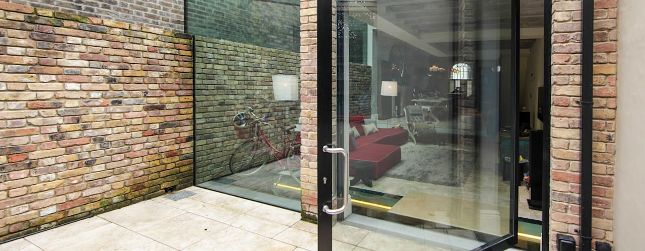 Chepstow Place, London Modern windows & doors by Maxlight Modern