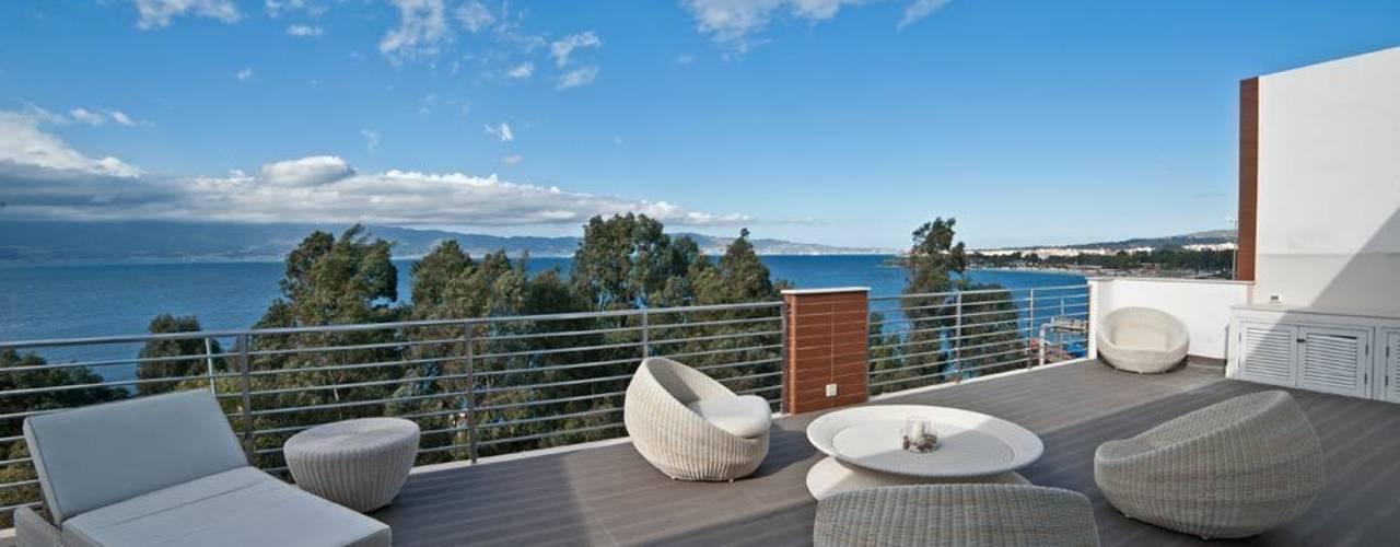 Akdeniz Balkon, Veranda & Teras Francesca Ignani Interiors Akdeniz